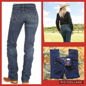 Q baby wrangler jeans size 3/4 x 34